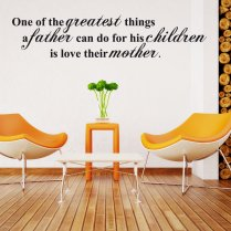 Children Family Wall Sticker Quote