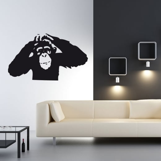 Chimp Wall Sticker