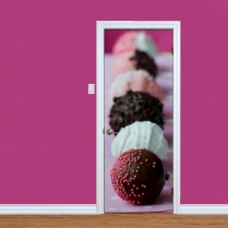 Chocolate Lolly Pop Printed Door