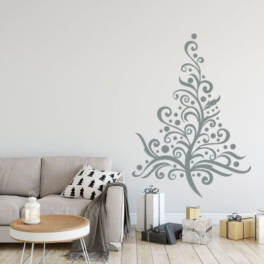 Christmas Tree Seven Wall & Window Sticker