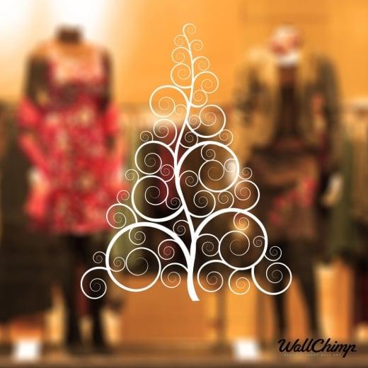 Christmas Tree Six Wall & Window Sticker
