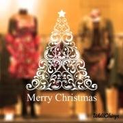 Christmas Tree Two Wall & Window Sticker