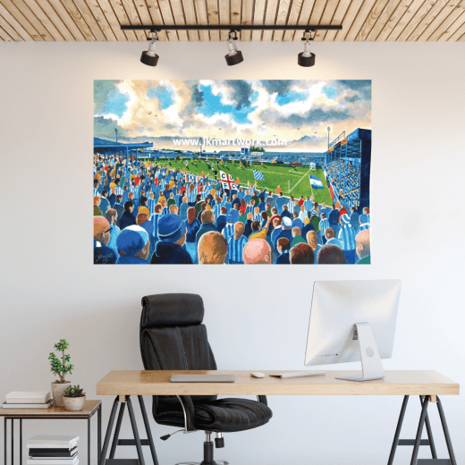 Colchester United, Layer Road Football Ground Wall Sticker
