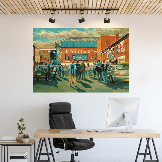 Coventry City, Highfield Road Football Ground Wall Sticker
