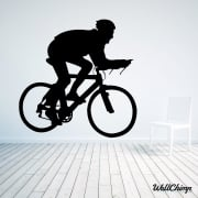 Cyclist Wall Sticker
