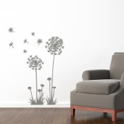 Dandelion In The Wind Wall Sticker
