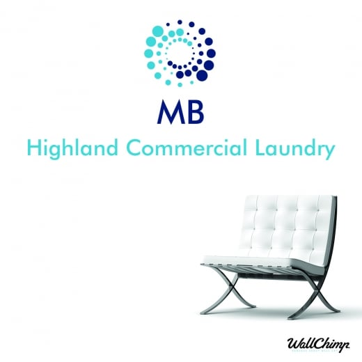 Danielle Mackenzie Highland Commercial Laundry Custom Wall Sticker WC570QT