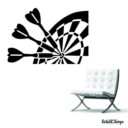 Dart Board Wall Sticker