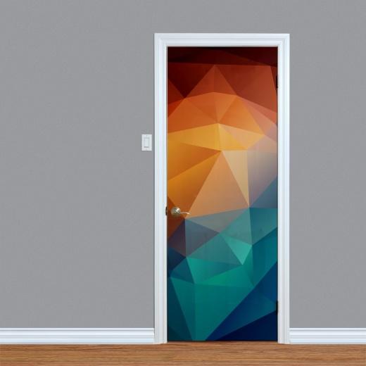 Digital Colour Pattern Digital Door Print