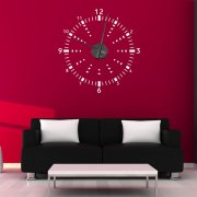 Digital Wall Sticker Clock