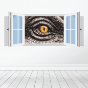 Dinosaur Eye Wall Sticker