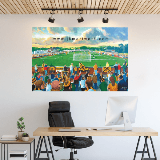 Dumbarton, Boghead Park Football Ground Wall Sticker