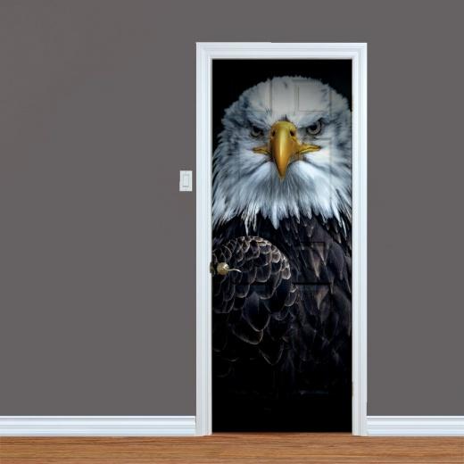 Eagle Head UV Printed Door