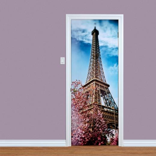 Eiffel Tower Paris Door Print