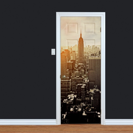 Empire State Building New York Printed Door