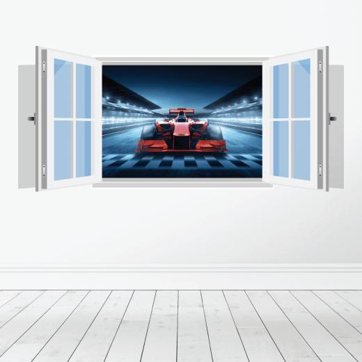 F1 Race Car Wall Sticker