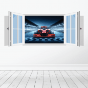 F1 Race Car Wall Sticker