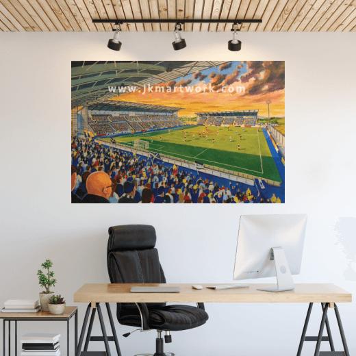 Falkirk Stadium Football Ground Wall Sticker