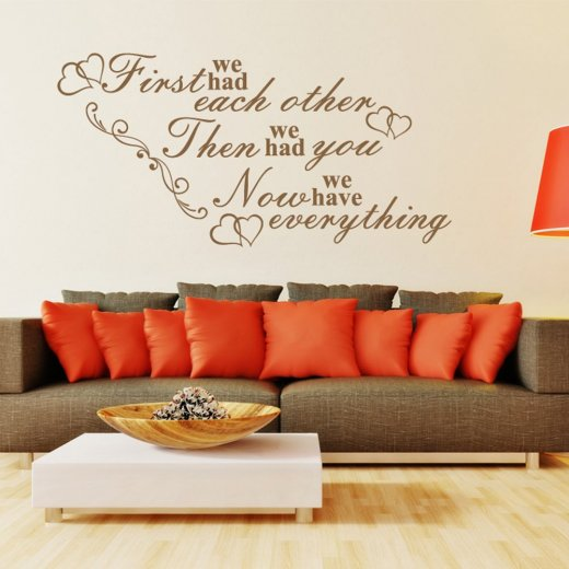 Family Is Everything Wall Sticker Quote