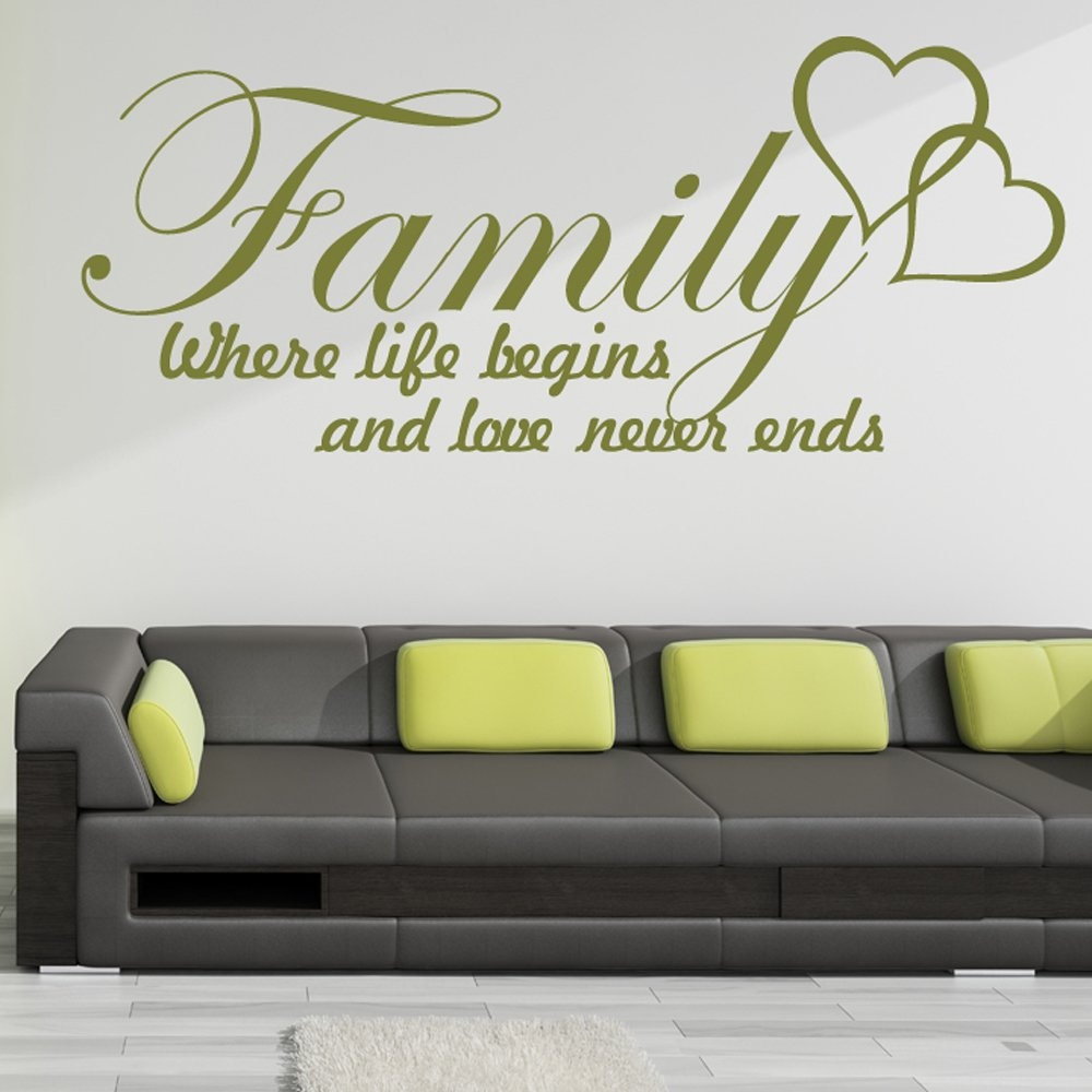 family life wall sticker quote wall chimp uk family love quote vinyl wall sticker by mirrorin