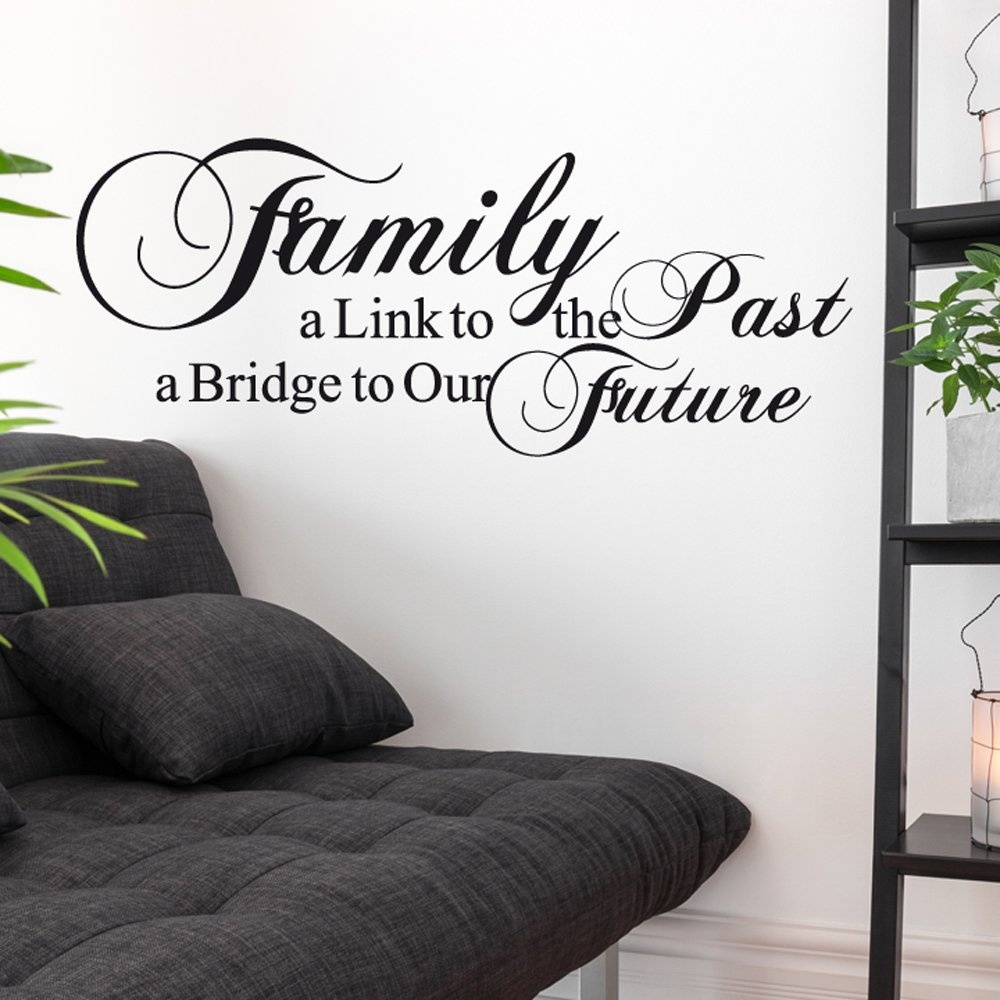 home wall stickers quotes family link wall sticker quote