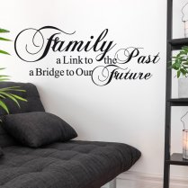 Family Link Wall Sticker Quote