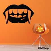 Fangs Wall & Window Sticker