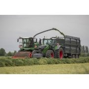 Farm Machinery Image - Featuring A Fendt Forager And Tractor