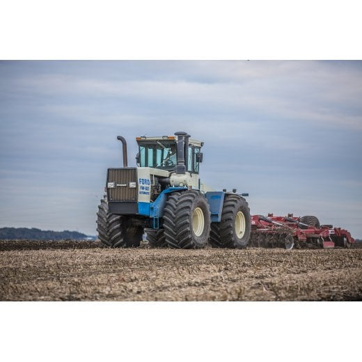 Farm Machinery Image - Featuring A Ford Tractor