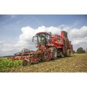 Farm Machinery Image - Featuring A Holmer Beet Harvester