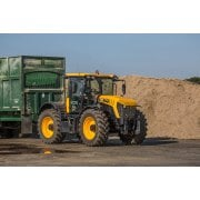 Farm Machinery Image - Featuring A JCB Fastrac Tractor