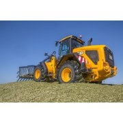 Farm Machinery Image - Featuring A JCB Loader Tractor