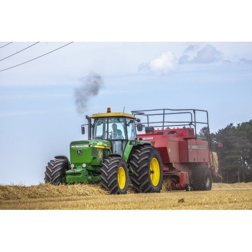 Farm Machinery Image - Featuring A John Deere Tractor