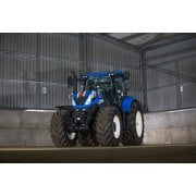 Farm Machinery Image - Featuring A New Holland Tractor