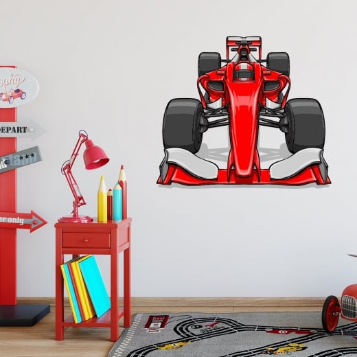 Ferrari F1 Racing Car Printed Wall Sticker