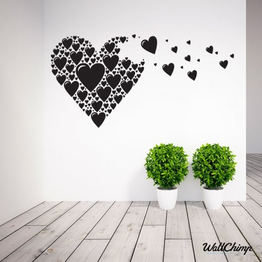 Floating Heart Wall Sticker