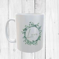 Floral Love Mug