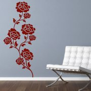 Flower Rose Wall Sticker