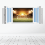 Football Ground Wall Sticker