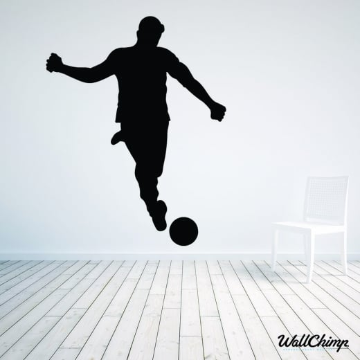 Footballer Two Wall Sticker