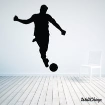 Footballer Two Wall Sticker