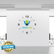 Full Colour Wall Sticker Clock