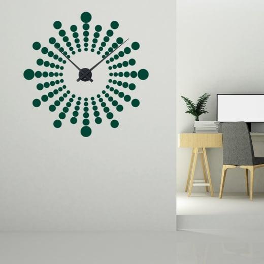 Futuristic Wall Sticker Clock