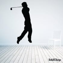 Golfer Two Wall Sticker