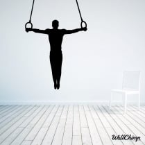 Gymnastics One Wall Sticker