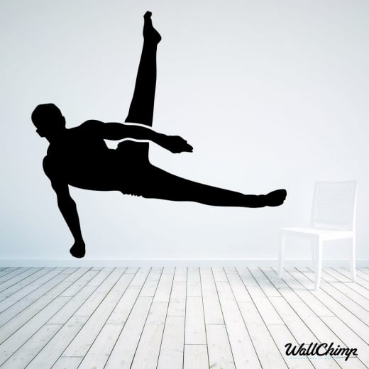 Gymnastics Three Wall Sticker