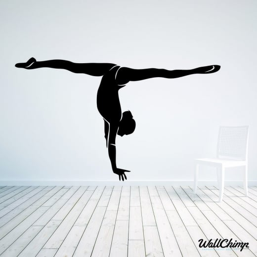 Gymnastics Two Wall Sticker