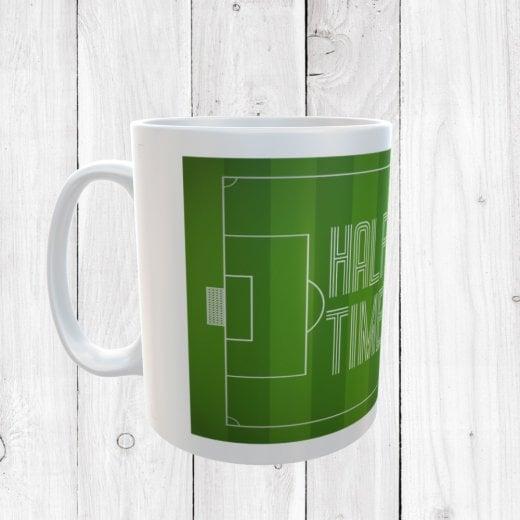 Half Time Tea Time Football Mug