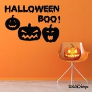Halloween Boo Wall & Window Sticker