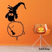 Halloween Sheep Wall & Window Sticker